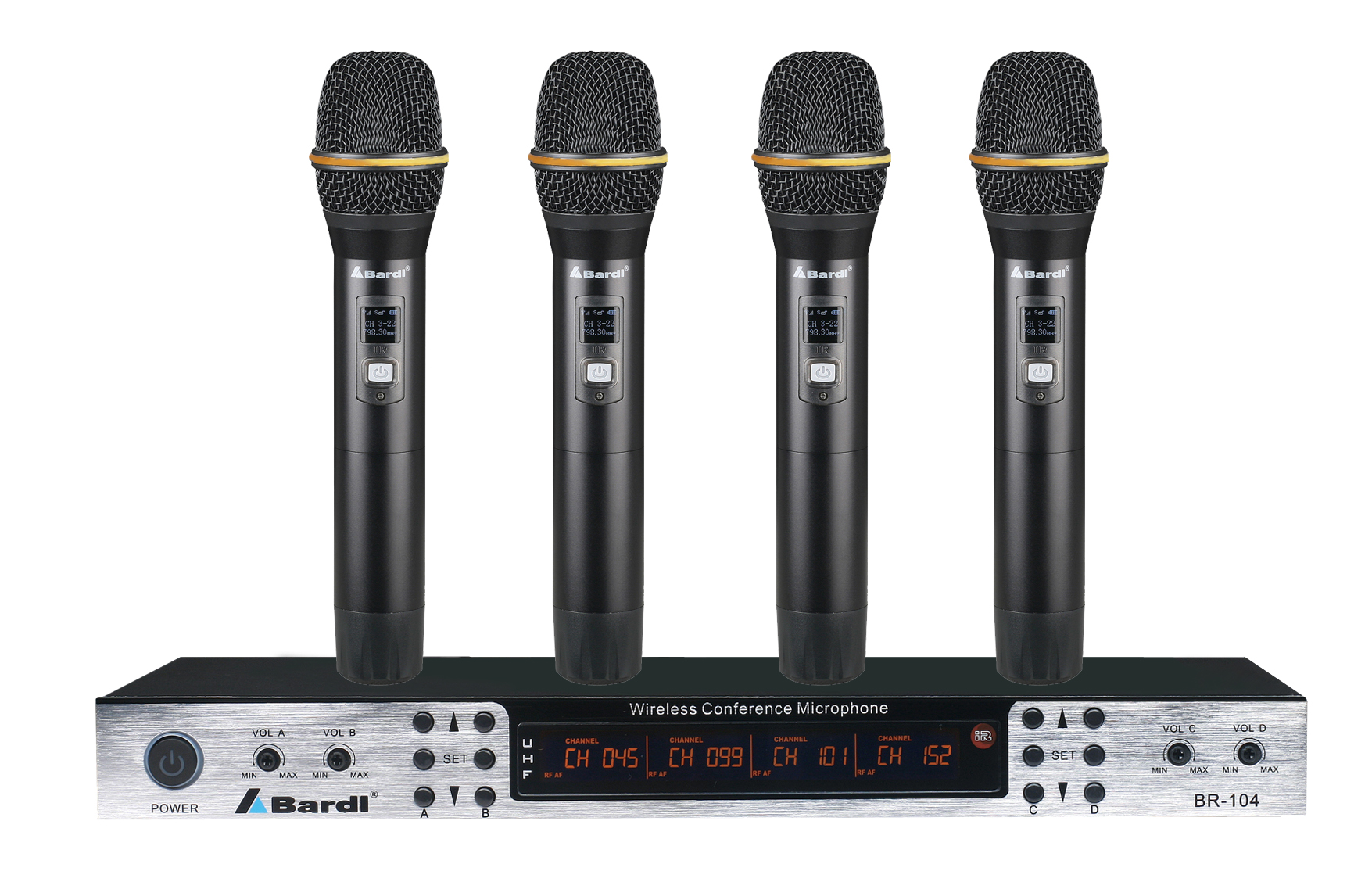 Bardl four channels wireless conference BR-104