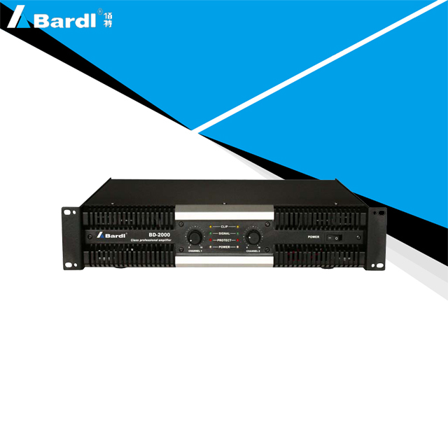Bardl BD-2000 Power Amplifier