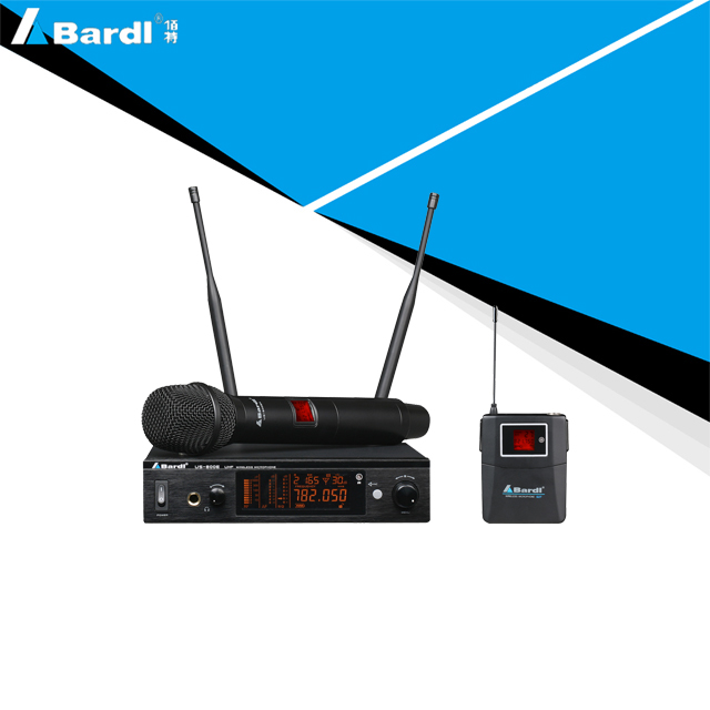 Bardl professional wireless microphone US-800E